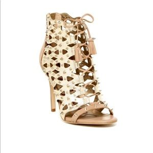 Sam Edelman Allison Spiked Cutout Heels